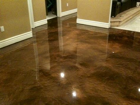 concrete basement floor paint rooms