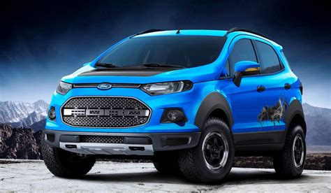 ford crossover ford ecosport gets a raptor like edition at sao paulo show