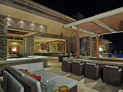 Las Vegas Luxury Homes Outdoor Spaces Outdoor Kitchens