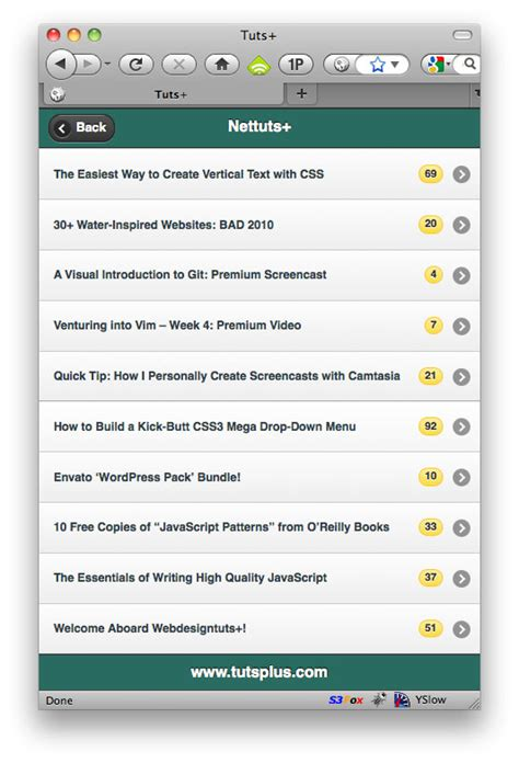 tutorial android jquery mobile how to build an rss reader with jquery mobile