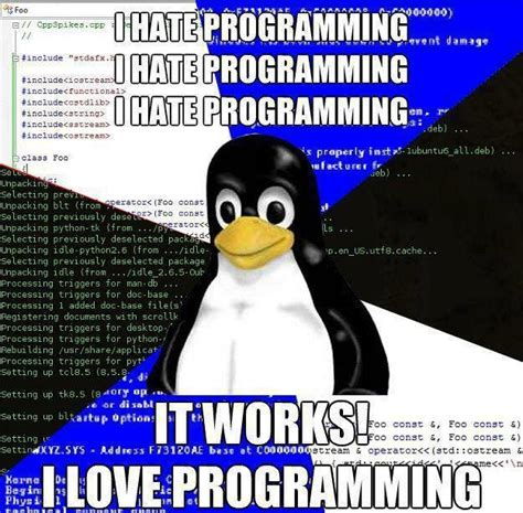 Programming Memes - friday joke i hate programming stephen haunts coding
