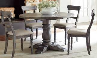 grey dining table set