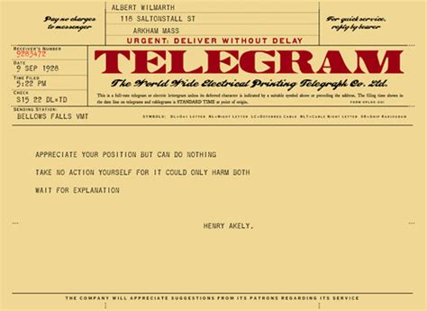 Pdf How To Send A Telegram by Hplhs The H P Lovecraft Historical Society