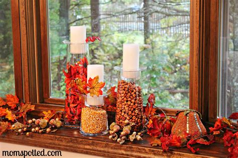 fall decorations to make at home decorate your home with partylite s spooky eyes hurricane