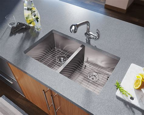8 kitchen sink 3322d equal rectangular stainless steel kitchen sink