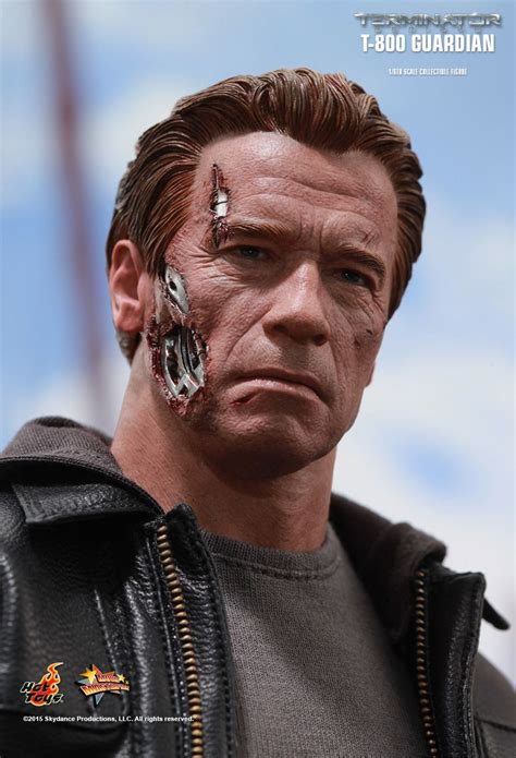 Toys Terminator Genisys T 800 Guardian Battle Damaged 1 6 toys terminator genisys t 800 guardian 1 6th scale