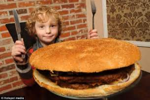 is this britain s biggest burger 13 000 calorie giant is equivalent to 26 quarter pounders