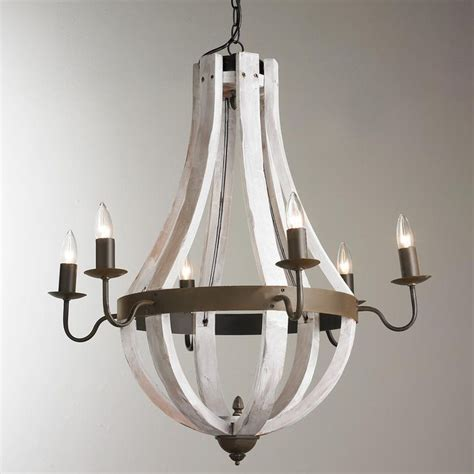 White Washed Wood Chandelier White Washed Wood Chandelier Dainolite 6 Light Chandelier In White Washed Wood With Palladium