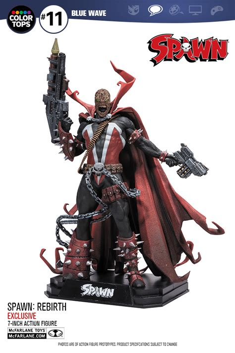 mcfarlane reveals 7 inch scale spawn rebirth figures the