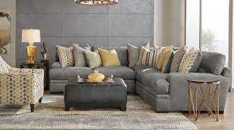 cindy crawford living room sets cindy crawford home palm springs gray 5 pc sectional