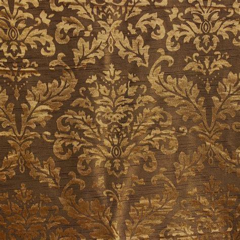 tappezzeria damascata tessuto damascato oro e ulivi tappezzeria tessuto tenda