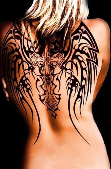 celtic cross back tattoos back tattoos and designs page 7