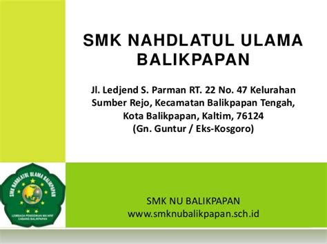 Buku Komunikasi Politik Nadlatul Ulama Cr profil smk nu balikpapan kaltim smk nahdlatul ulama 1