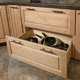 kitchen storage cabinets with drawers pot pan storage cabinets