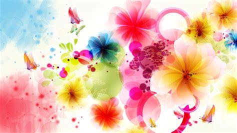 flowers vector art colorful wallpaper hd wallpaperscom