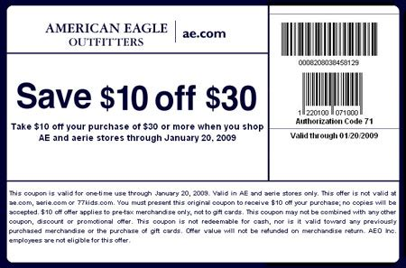 american printable grocery coupons american eagle promo codes february 2016 coupon specialist