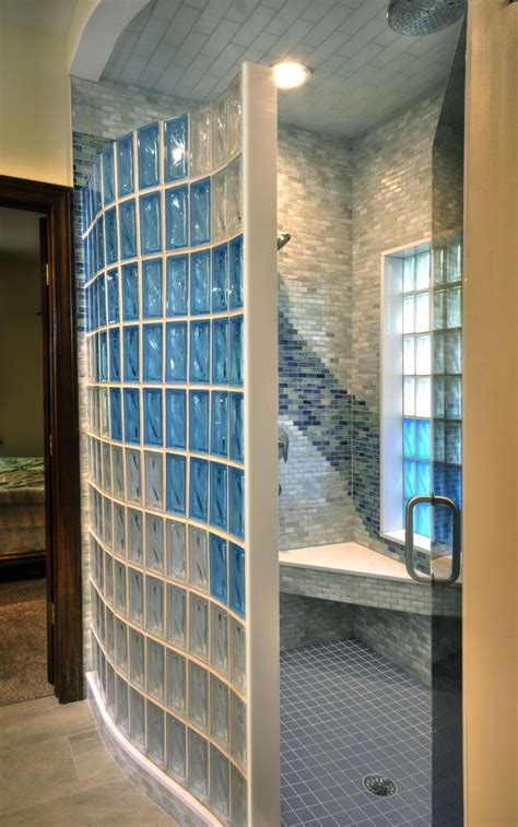 Glass Cube Shower by Best 25 Glass Block Shower Ideas On Glass