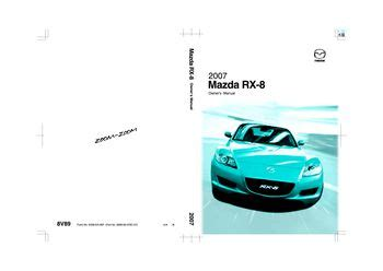car owners manuals free downloads 2009 mazda rx 8 windshield wipe control download 2007 mazda rx 8 owner s manual pdf 443 pages