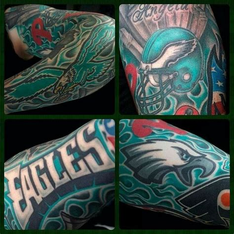 philadelphia eagles tattoo 23 best philadelphia eagles tattoos images on