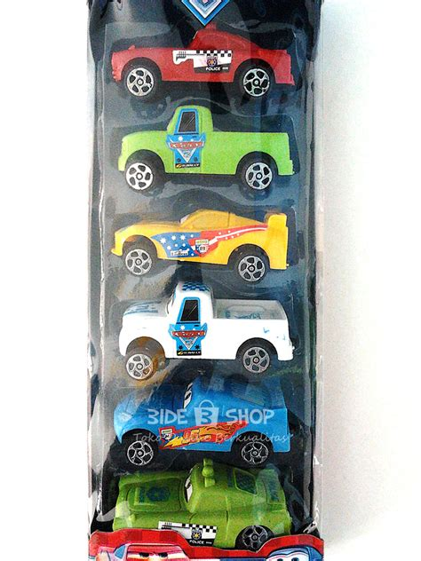 Study Set Cars Murah jual mobil mobilan cars racing set 6 karakter pull back