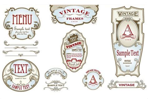 free vintage label templates for word 10 vintage bottle label templates free printable psd