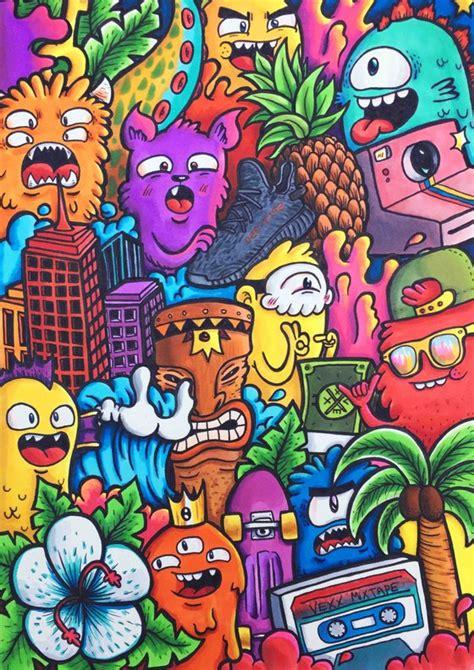 doodle warna home vexx art