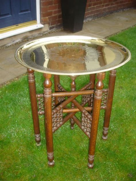 brass and ls vintage brass table ls lite source antique brass table l