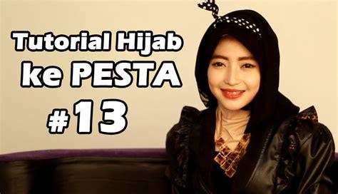 tutorial rambut ke pesta youtube tutorial hijab untuk pesta 13