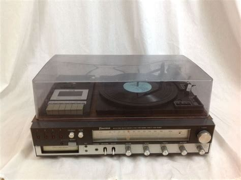 stereo 8 cassette emerson stereo am fm receiver 8 track cassette record