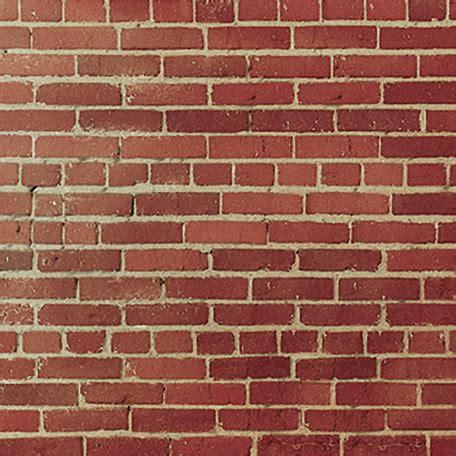 Paper Bricks - sugartree 12 x 12 paper brick wall