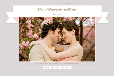 Site Wedding by Wedding Website Iwp Collection