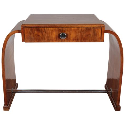art deco style writing desk french art deco walnut desk dressing circa 1925 at