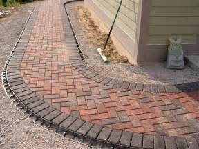 holland stone paver walkway outdoor living spaces pinterest paver walkway walkways and