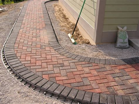 And Pavers Paver Walkway Outdoor Living Spaces