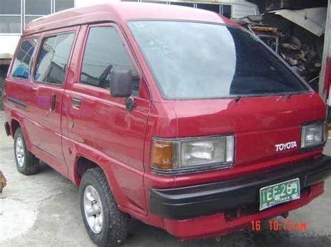 toyota van philippines toyota liteace manila 7 red toyota liteace used cars in