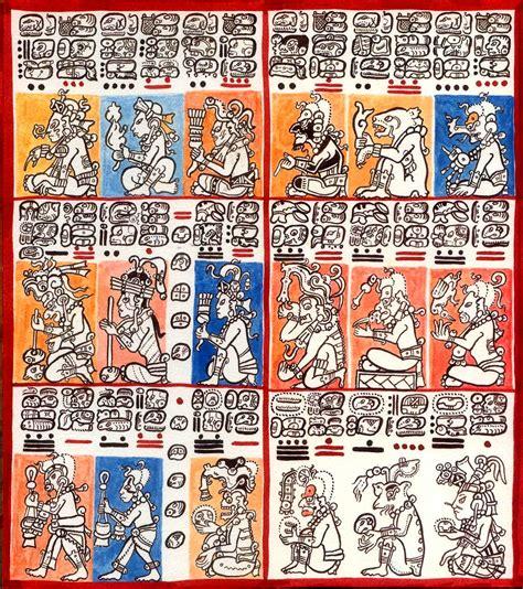 imagenes codices mayas c 243 dice de dresden rwereallycivilized