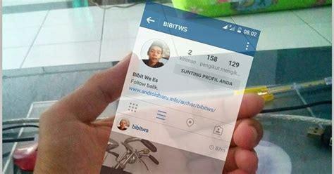 cara membuat instagram in my hand cara mudah membuat foto instagram in hand dengan picsart
