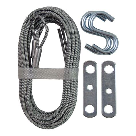 Garage Door Cable Home Depot by Ideal Security Garage Door Extension Cable Galv The