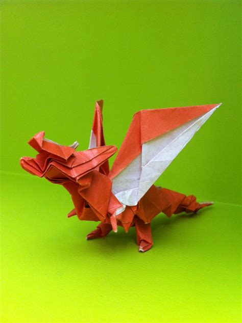 Origami Fiery - origami fiery by paleodraw on deviantart