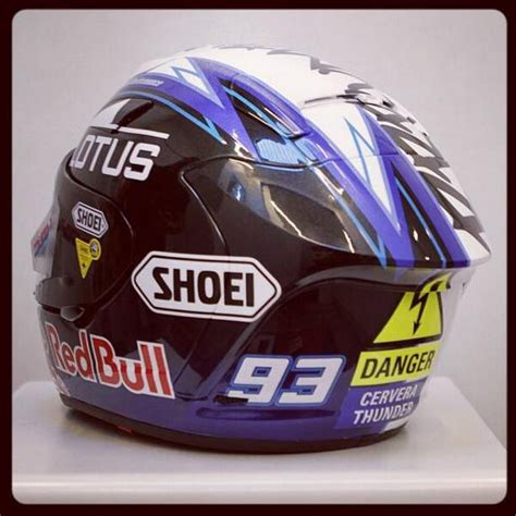 design helm marc marquez ant survival of the fastest