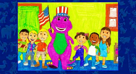 barney and the backyard gang barney goes to school barney goes to school by bestbarneyfan on deviantart