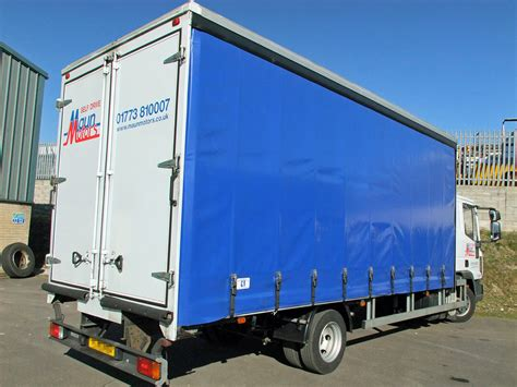 curtain side van hire maun motors self drive curtain side truck rental 7 5