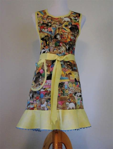 quilting and sewing from the aprons handmade for sale