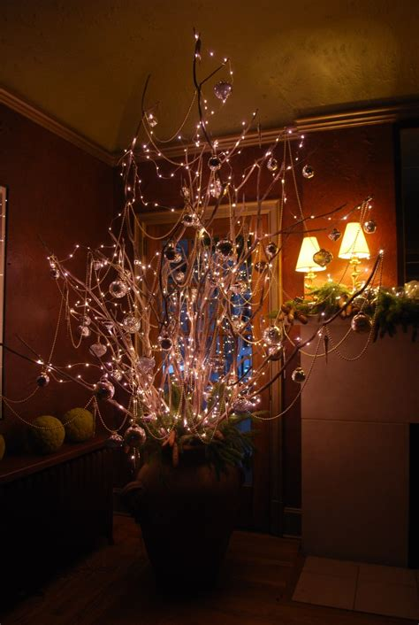 lighted trees home decor christmas decorations lighted branches