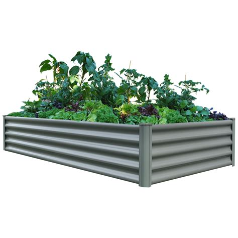 Raised Vegetable Garden Beds Bunnings The Organic Garden Co 2 0 X 1 0 X 0 41m Raised Rectangle