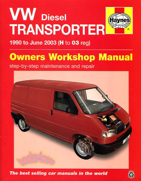 Eurovan Shop Manual Service Repair Haynes Book Vw