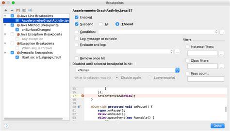 android studio debug layout debug your app android studio
