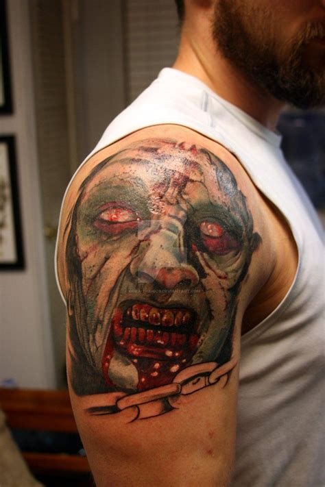 evil dead tattoo evil dead session 1 by ogra the gob evil dead tattoos