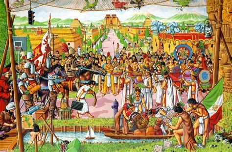 imagenes de las viviendas aztecas google images