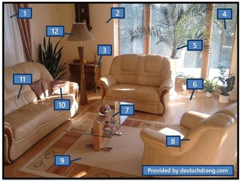 living room in language 125 best images about bilder mit vokabular daf on learn german german language and